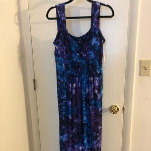 Chaps Sz. XL Beautiful Sleeveless Maxi dress